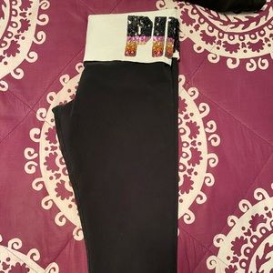 PINK Victoria's Secret Pants & Jumpsuits - Victoria Secret PINK sequence crop legging